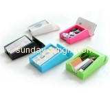 Plastic acrylic business gift card holder box BHK-035