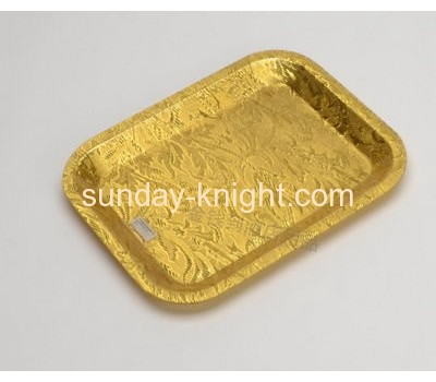 Custom design acrylic plastic serving tray with competitive price FSK-036