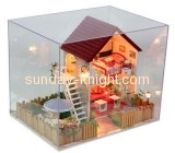 Acrylic display cases wholesale acrylic display toy box DBK-044