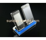 Wholesale cell phone display counter mobile phone display stand acrylic mobile phone display stand CPK-022
