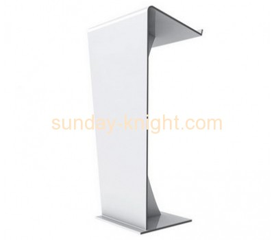 Custom design acrylic lectern rostrum crystal podium AFK-044