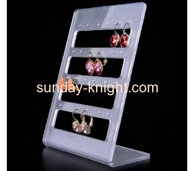 Acrylic display rack jewellery stand plastic display rack JDK-043