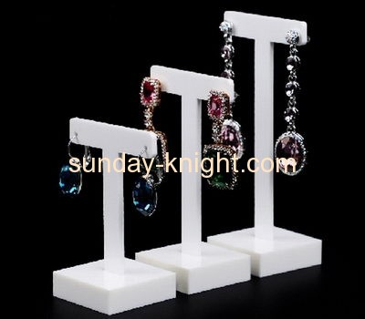 Custom acrylic earring display stand jewellery display stand JDK-042