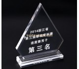 Wholesale acrylic trophy gold medal crystal awards and trophies ATK-024