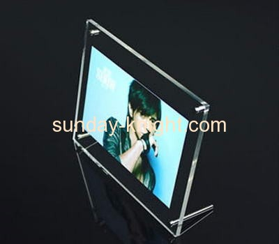 Wholesale acrylic picture frame photo picture frame open hot sexy girl photo or photo picture frame APK-036