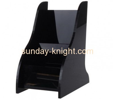 Custom acrylic storage box acrylic holder display rack for hotel HCK-041