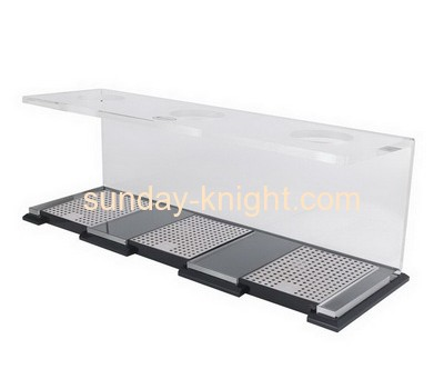 Custom acrylic coffee cup rack acrylic display rack acrylic display rack HCK-042