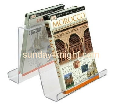 Factory direct sale acrylic brochure holder book holder magazine holder BHK-041