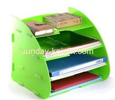 Wholesale acrylic book display stands book holder stand magazine holder BHK-042