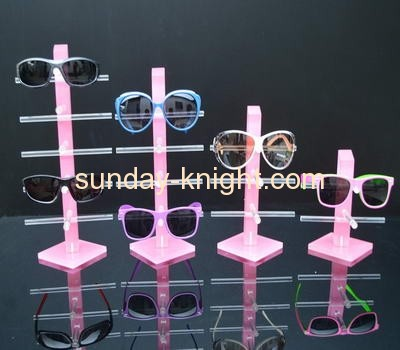 Custom acrylic sunglasses display rack display sunglasses floor standing sunglasses display rack SDK-032
