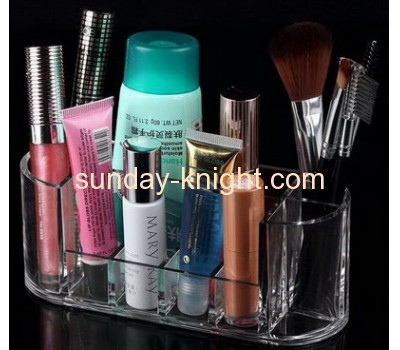 Custom acrylic cosmetic display stand make up store display acrylic display stand MDK-062