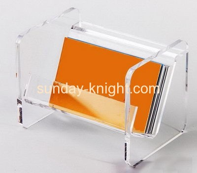 Factory direct sale acrylic business card holder acrylic name card holder acrylic holder BHK-046