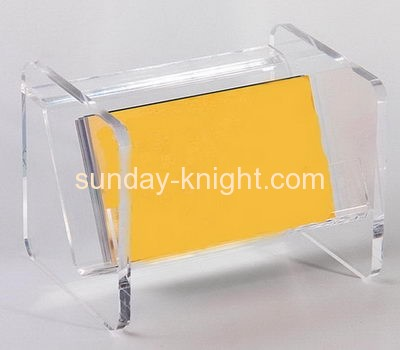 Factory wholesale acrylic business card holder acrylic display holder name card holder BHK-048