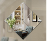 Factory hot selling mirror acrylic cheap dressing mirror 3mm thick mirror MAK-014