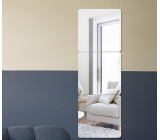 Factory wholesale acrylic wall mirror antique mirror frames dressing mirror design MAK-017