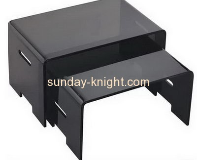 Custom acrylic modern furniture china acrylic coffee table side table AFK-063