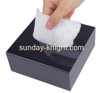 Custom acrylic box facial tissue acrylic light box acrylic box DBK-065