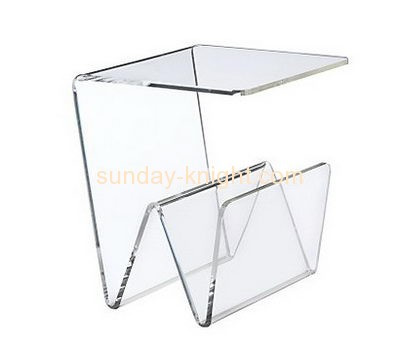 Hot selling transparent acrylic coffee table clear plastic console table coffee table AFK-069