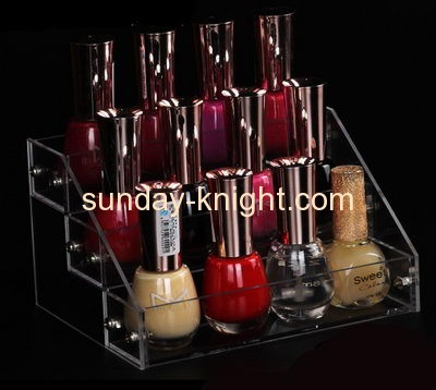 Factory custom display cosmetic display counter acrylic organizer for cosmetic MDK-074