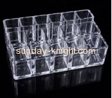 Hot selling acrylic stand product display stands cosmetic retail displays MDK-087