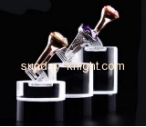 Factory direct sale acrylic plastic display stands ring display holder display for jewelry JDK-060
