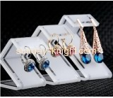Hot selling acrylic earring display stand jewelry displays cheap display for stores JDK-073