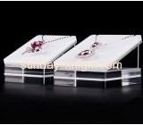 Customized acrylic retail display shelves acrylic retail displays jewellery display stands JDK-100