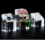 Customized acrylic table display stands stud earring display stand production counter display JDK-103