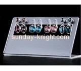 Factory custom retail displays acrylic standing earring holder  jewelry holder stand JDK-105