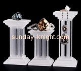 Custom acrylic display stands jewelry retail display stand for earrings JDK-115