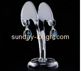 Custom acrylic display holders acrylic earring trees and jewelry trees jewellery display stands for shops JDK-119