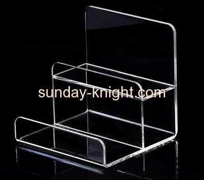 Supplying acrylic plastic display racks cosmetics display stand in store display MDK-095