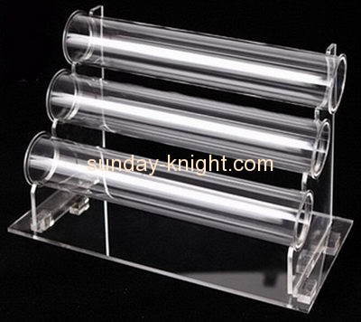 Custom Acrylic Displays Holders 3 Tier Bracelet Display For Jewelry Jdk 162