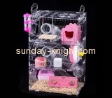 Acrylic display supplier custom acrylic large bird cage best cage for syrian hamster PCK-031