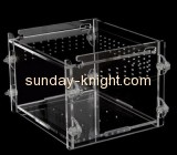 Acrylic display manufacturers custom acrylic plexiglass bird cages parrot cages for sale PCK-033