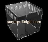 Acrylic display factory custom acrylic vintage bird cage biggest hamster cage PCK-037