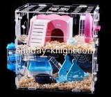 Lucite manufacturer custom acrylic big bird cages cheap PCK-061