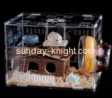 Acrylic factory custom cockatoo cage acrylic bird cage for sale PCK-065