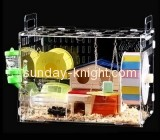 Acrylic manufacturers custom corner parrot cage cheap bird cages PCK-066