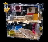 Acrylic manufacturing company custom hq bird cages the best hamster cages PCK-072