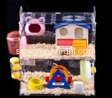 Lucite manufacturer custom african grey cage cheap dwarf hamster cages PCK-075