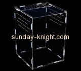 Display case manufacturers customize lucite boxes acrylic aquarium divider PCK-105