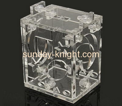 Display case manufacturers customize acrylic rabbit cage pet cages PCK-109