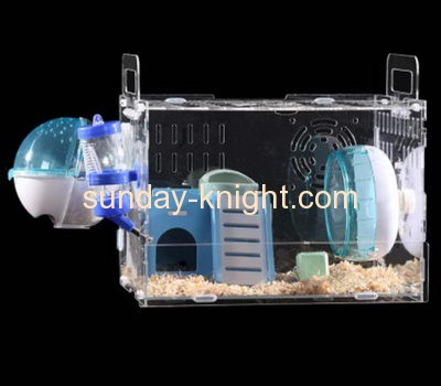 Display stand manufacturers customize clear display boxes cool dwarf hamster cages PCK-114