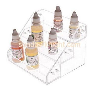 Acrylic display manufacturers customize display holders display shelves for e cig liquid ODK-050
