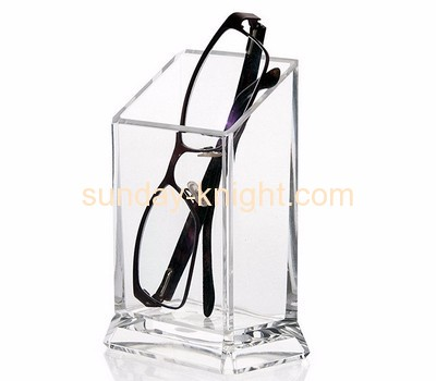 Plexiglass company customize acrylic brush holder sunglass holder ODK-073