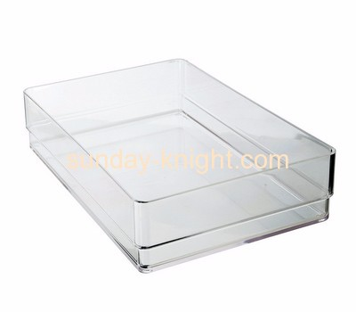 Perspex manufacturers customize serving tray cup holder ODK-079