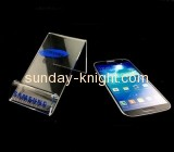 Acrylic products manufacturer customized desk cell phone stand CPK-109
