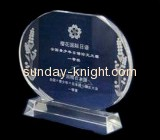 Clear acrylic awards and trophies ATK-017