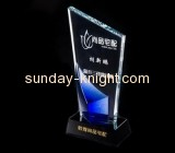 Lucite manufacturer customized acrylic plaque award ATK-027